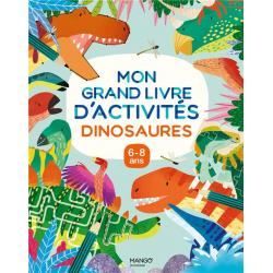 Mon grand livre d'activités dinosaures