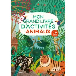 Mon grand livre d'activités animaux