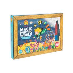 Coloriage magique - Océan