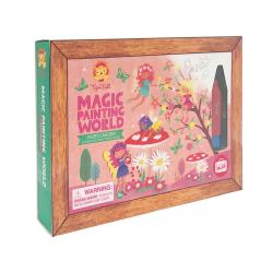 Coloriage magique - Fées