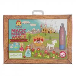 Coloriage magique - Un jour au palace