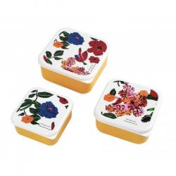 Les hibiscus - Set de 3 boites à goûter