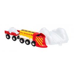 Train chasse-neige