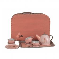 Service à thé champigon