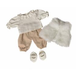 Les petits - Vêtement blanc/sable