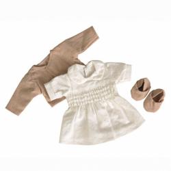 Les petits - Vêtement blanche à smocks