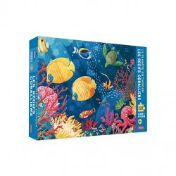 Puzzle 220 pcs La planète en danger - Les récifs coralliens