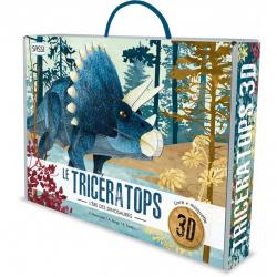 Maquette en 3D - Le tricératops