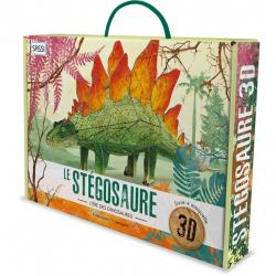 Maquette en 3D - Le stégosaure