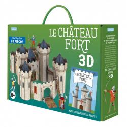 Maquette en 3D - Le château fort