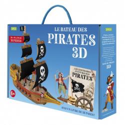 Maquette en 3D - Le bateau des pirates