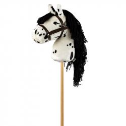 Cheval bâton blanc tacheté