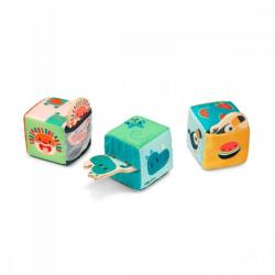 Cubes cache cache - Jungle