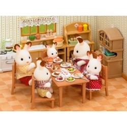 Table de repas et chaises